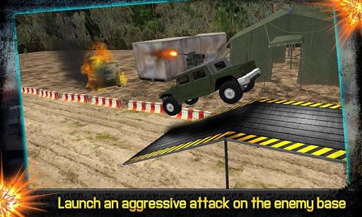 美国陆军战争吉普越野攻击3D