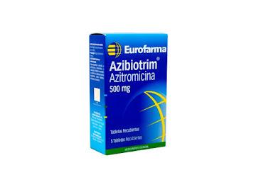 Solo Online Azibiotrim 500 Mg   Tab/Comp x 5 Und