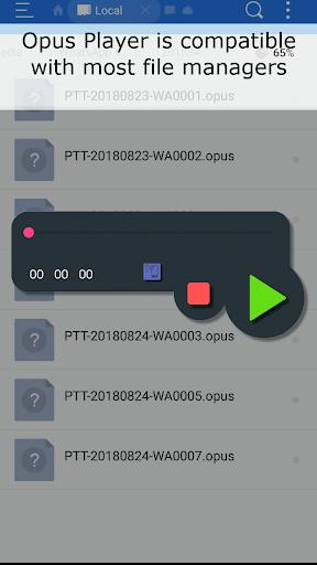 Opus Player - WhatsApp Audio Search and Organize 2.3.5 screenshots 3