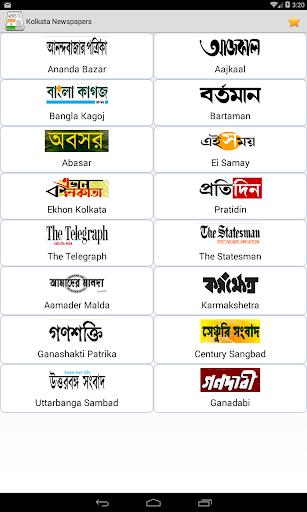 Kolkata Newspapers