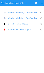 Weather Models screenshot 2