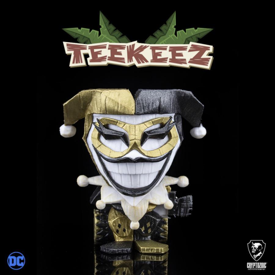 Metallic Gold Harley Quinn (DC Teekeez™)
