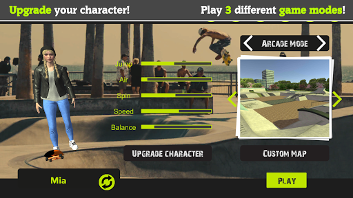 Skateboard FE3D 2 - Freestyle Extreme 3D apkdebit screenshots 7