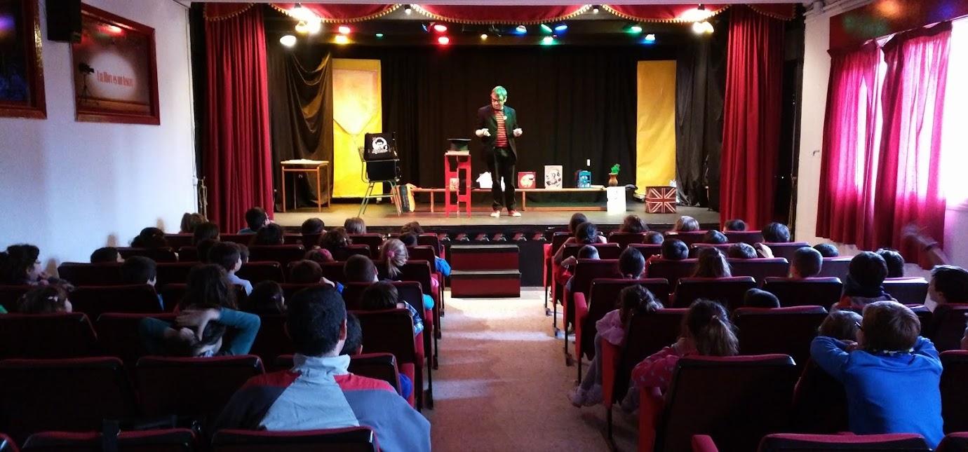 Magia de escenario para niños de todas las edades
