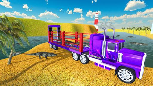 Zoo & Farm Animal Transporter Truck 2018  screenshots 1