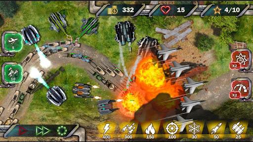 Protect & Defense: Tank Attack  captures d'écran 1