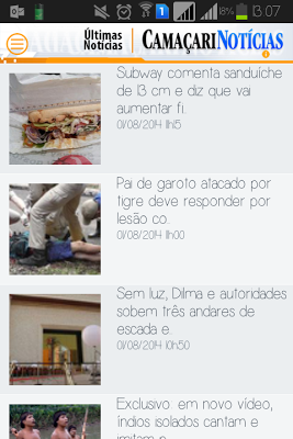 Camaçari Notícias - screenshot