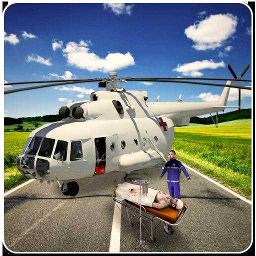ヘリコプター 救急車: シティ シム 模擬 App LOGO-APP試玩