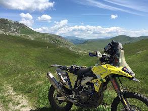 Photo: Die Rallye auch im Hochgebirge - gigantische Aussichten