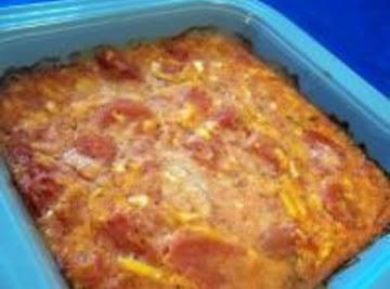 Sauerkraut And Tomato Casserole Recipe
