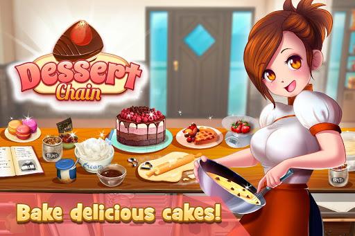 Dessert Chain: Café Waitress screenshot 1