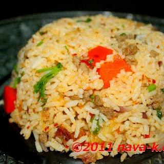 Lamb Fried Rice.