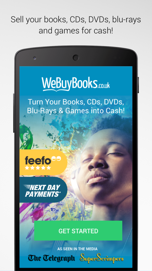 WeBuyBooks:Sell Items for Cash- screenshot