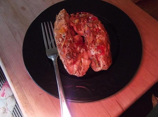Den's Sweet Pepper Chicken Recipe