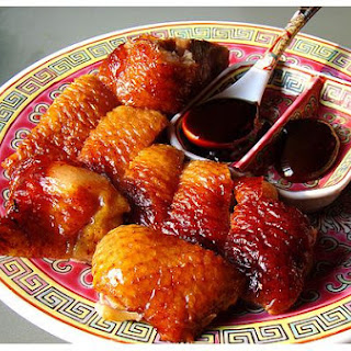 Home Made Peking Roast Duck.