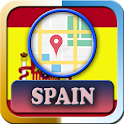 Spain Maps and Direction icon