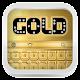 Shiny Gold Keyboard