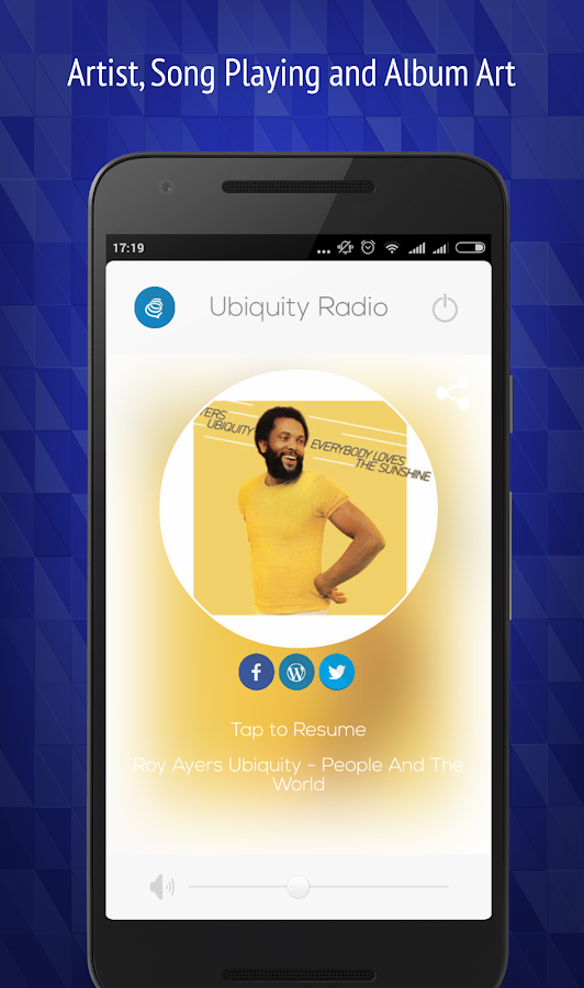 Ubiquity Radio- screenshot