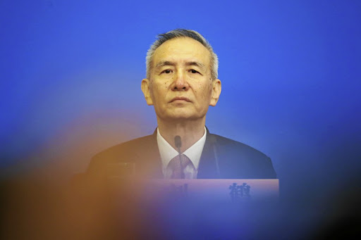 Liu He, a special envoy of China's President Xi Jinping, negotiated a new deal with Washington. Picture: REUTERS