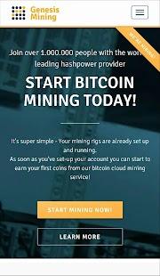 Genesis Mining - náhled
