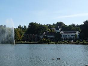 Photo: Le château de Genval abrite aujourd'hui l'hôtel le plus étoilé de Belgique