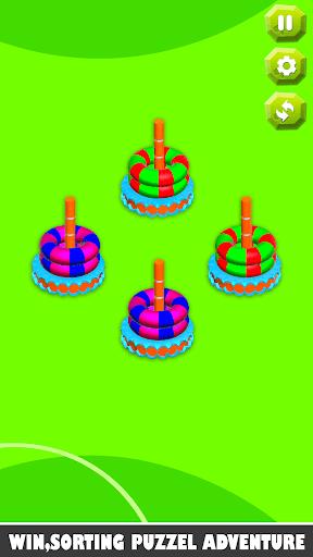 Bubble sort it games 3d-Hoop stacks new games 2020 android2mod screenshots 8