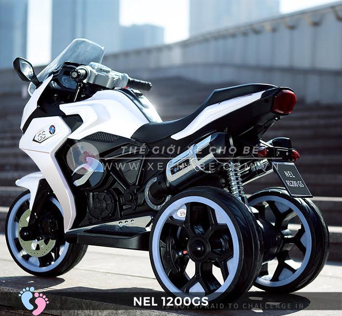 Moto điện 3 bánh cho bé NEL-1200GS 9