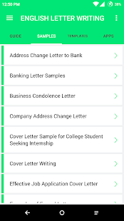English letter writing android apps on google play english letter writing screenshot thumbnail thecheapjerseys Choice Image