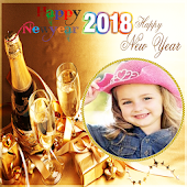 Happy New Year 2018 Photo Frames