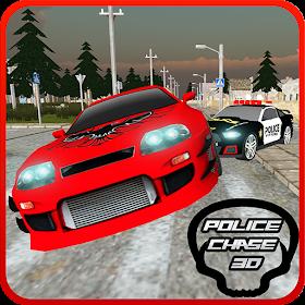 Полиция Чейз в город 3D