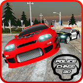 Police Car  Chase  Crime City
