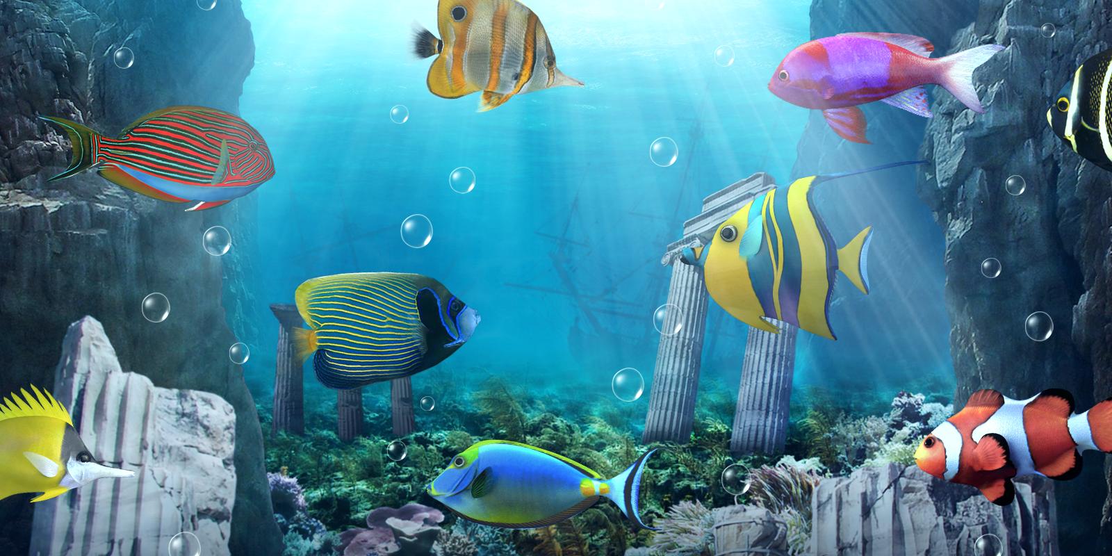 Fish Tank 3d Live Wallpaper For Pc Akvarium Levende Tapet Android Apps P 229 Google Play