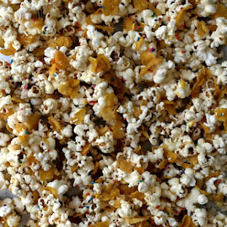 Buttery + Salty Marshmallow Popcorn Crunch