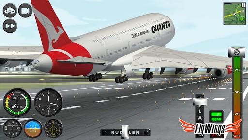 Flight Simulator 2015 Flywings - Paris and France apkpoly screenshots 24