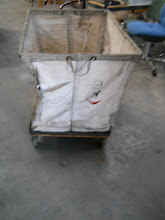 Photo: Vintage Canvas Cart $50