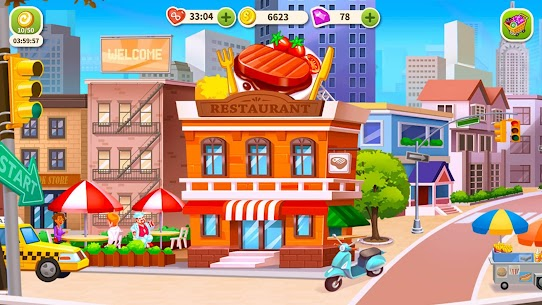 Cooking Hot Mod Apk- Craze Restaurant Chef (Unlimited Money) 1