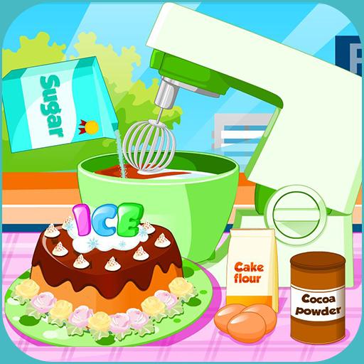 Cooking Ice cream cake mania (game)