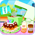 Cooking Ice cream cake mania icon