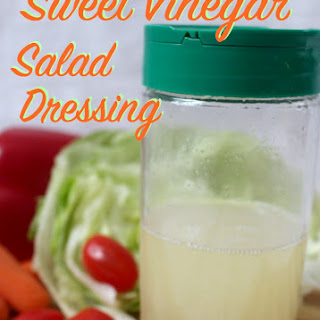 Sweet Vinegar Salad Dressing
