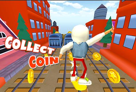 3D Subway Kids Rail Dash Run