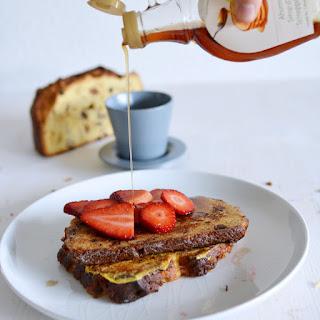 "Panettone French Toast ""Fritalian Toast""."