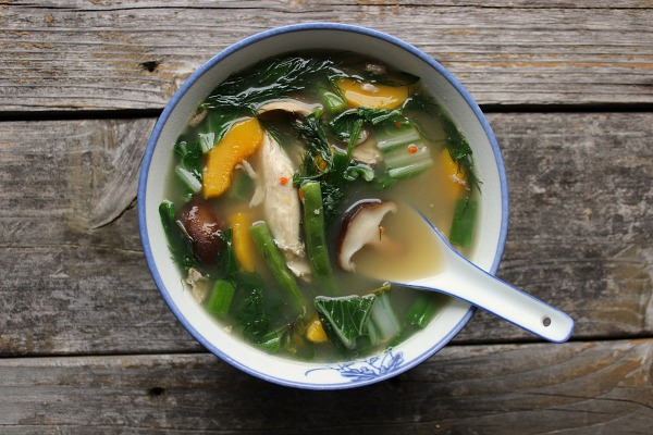Northeastern Herbal Curry Soup