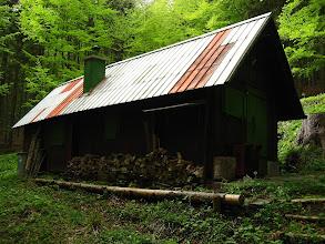 Photo: Jaka szkoda, że chatka zamknięta. Ciekawe jak mieni się wnętrze przybytku?