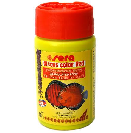 Sera Discus Colour red