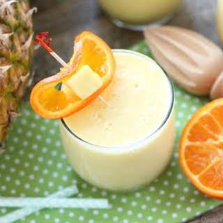 Pineapple Orange Smoothie.