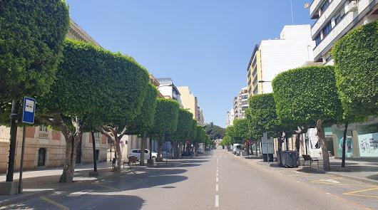 El Paseo de Almería, centro del debate.