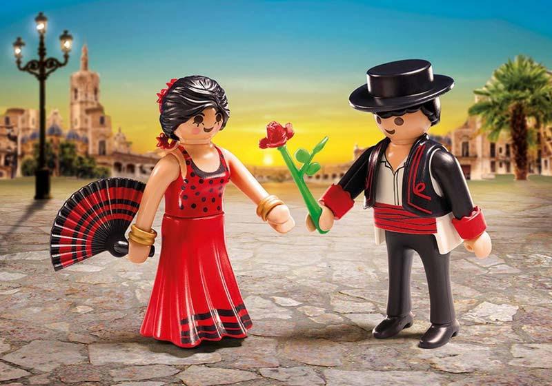 Contenido de Playmobil® 6845 Duo Pack Bailarines Flamencos
