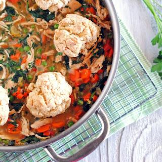 Skillet Chicken Pot Pie.