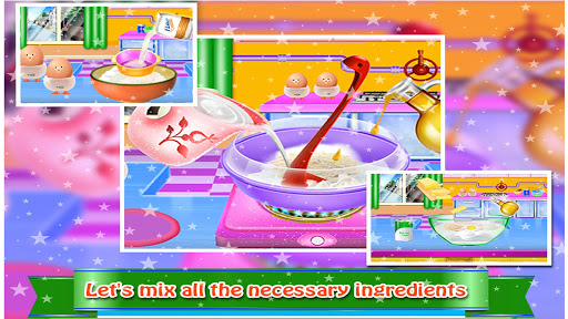 Cosmetic Box Cake Cooking image | 3