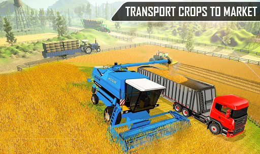 Offroad Pickup Cargo Tractor Trolley Transport android2mod screenshots 3